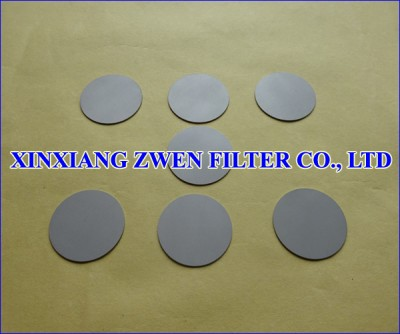 SS Sintered Powder Filter Disc