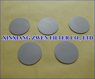 SS Sintered Porous Filter Disc