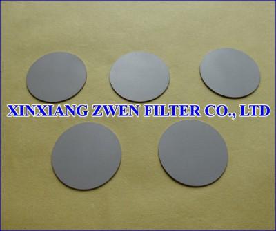 SS Sintered Porous Filter Disc