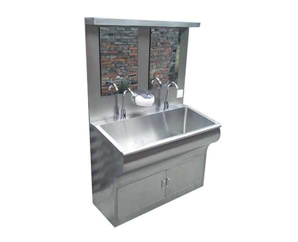 双人位感应洗手池