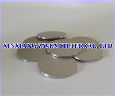 Washable Ti Sintered Porous Filter Disc