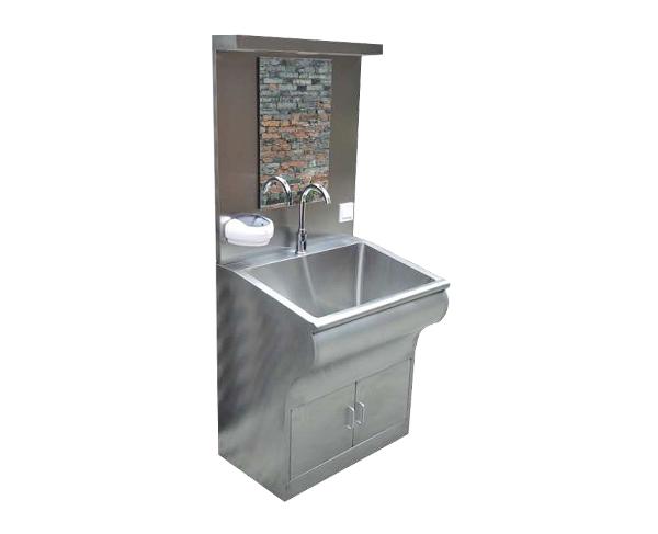 单人位感应洗手池