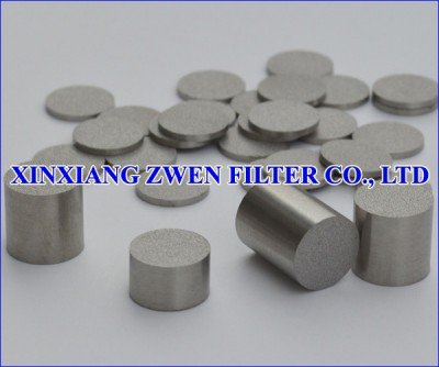 Washable Titanium Sintered Powder Filter Disc