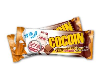 22克焦糖味脆米代可可脂巧克力