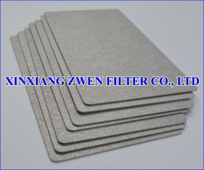 Washable Ti Sintered Powder Filter Plate