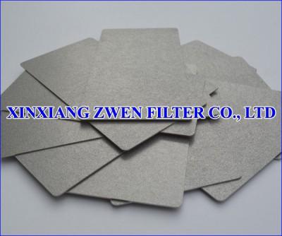 Washable Ti Sintered Porous Filter Sheet