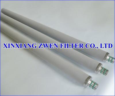 Washable Titanium Sintered Powder Filter Cartridge