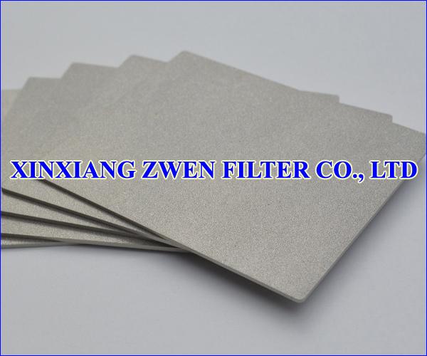 Washable Titanium Sintered Porous Filter Sheet