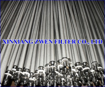Cylindrical Sintered Porous Filter Cartridge
