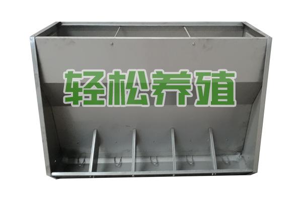 不锈钢双面料槽