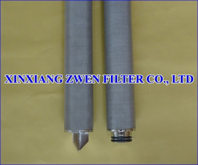 Cylindrical Sintered Wire Mesh Filter Element