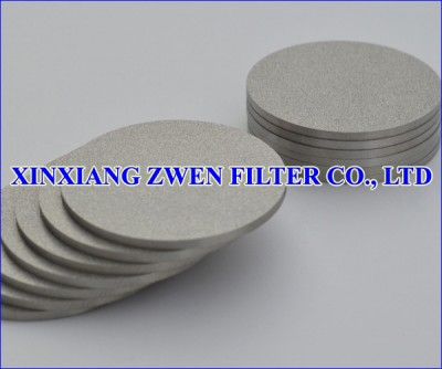 Washable Ti Sintered Powder Filter Disc