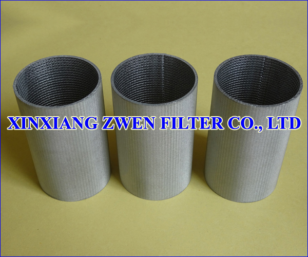 SS Sintered Wire Mesh Filter Tube