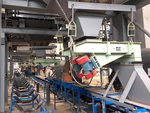 冶金行业合作案例:年产120万吨筛分设备与给料设备