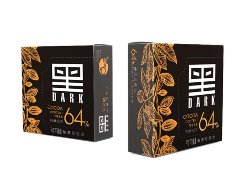 60克可可林64%酷黑巧克力