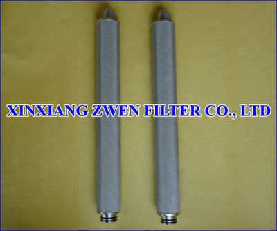 Cylindrical Sintered Mesh Filter Cartridge