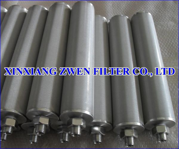 304 Sintered Filter Cartridge