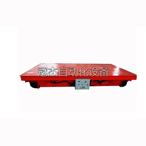 低压供电轨道平车