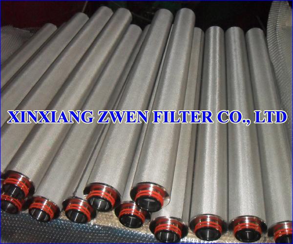 316L Sintered Filter Cartridge