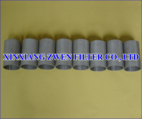 SS Sintered Metal Filter Tube