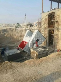 烏茲別克斯坦客戶做水泥生產線現場安裝