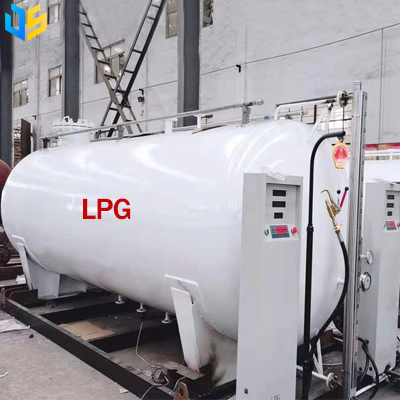 LPG skid station