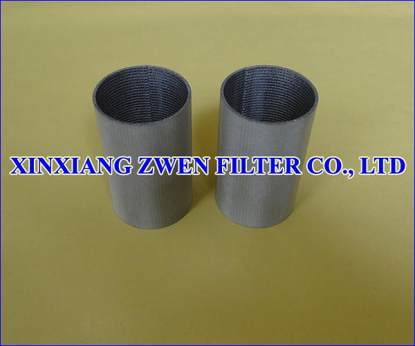 Stainless Steel Sintered Mesh Filter Tube