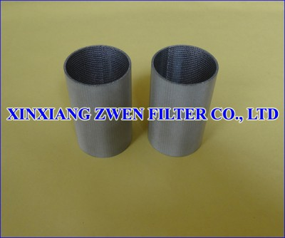 Stainless Steel Sintered Mesh Filter Tube