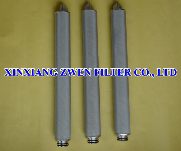 Cylindrical Sintered Mesh Filter Element