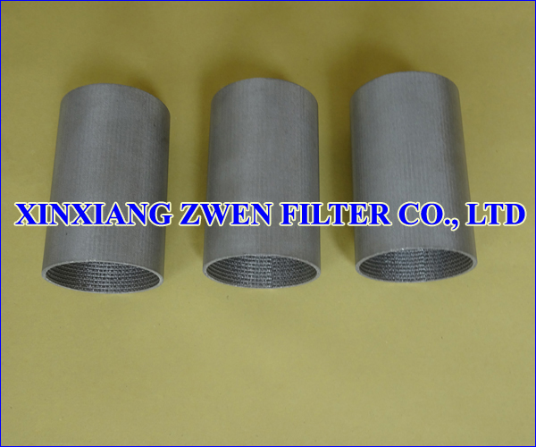 SS Sintered Mesh Filter Tube