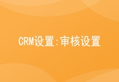 CRM设置;审核设置