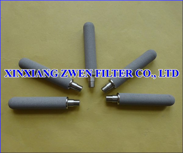 Cylindrical Sintered Powder Filter Cartridge