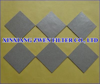 316L Sintered Powder Filter Plate