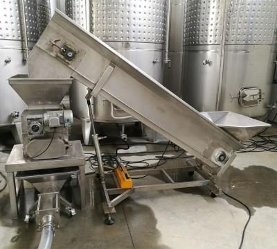 桑葚酒厂生产线工作现场