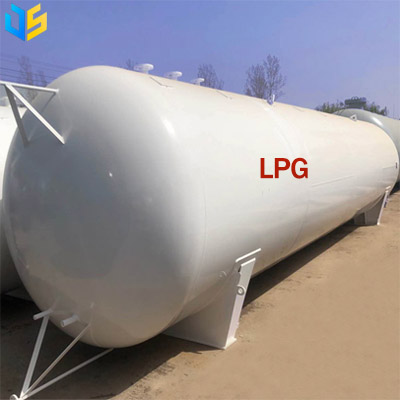 Above ground LPG tank