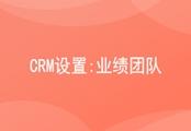 CRM业绩团队