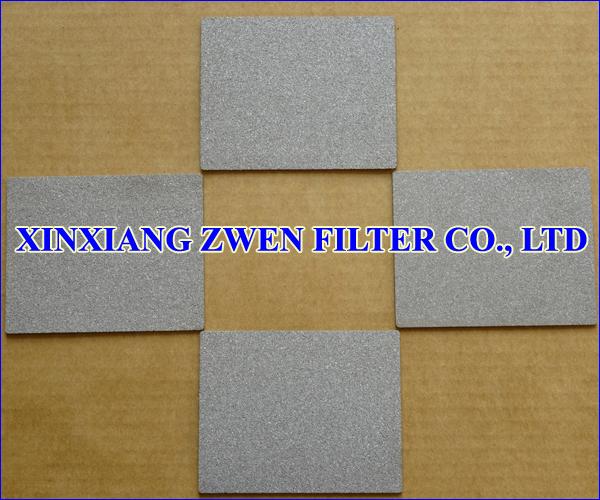 Stainless Steel Sintered Porous Filter Sheet