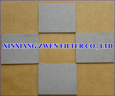 Stainless Steel Sintered Porous Filter Sheet
