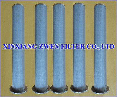 Cylindrical Sintered Metal Filter Cartridge