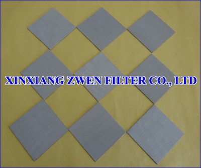 Multilayer Sintered Mesh Filter Plate
