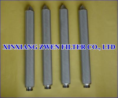 Stainless Steel Sintered Mesh Filter Cartridge