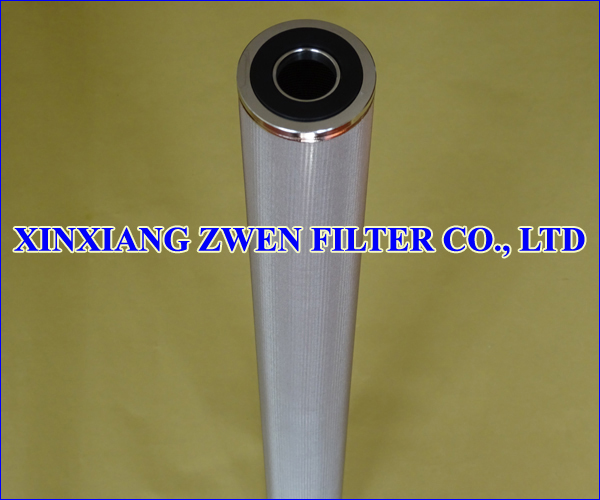 SS Sintered Mesh Filter Cartridge