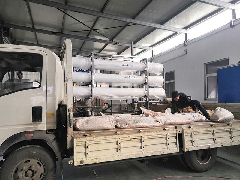 纯净水设备发货