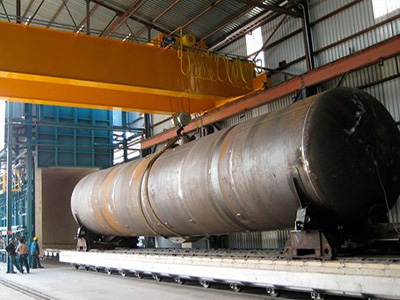 Natural gas trolley furnace, chamber furnace