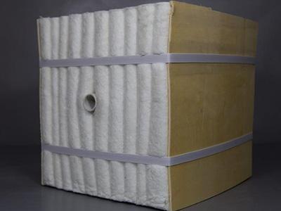 Aluminum silicate fiber module, Insulation module
