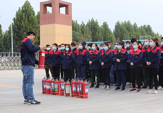 【三強醫療】組織開展2020年秋季消防安全應急演練!