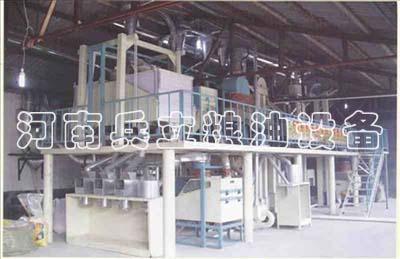 玉米黃金粉加工設備