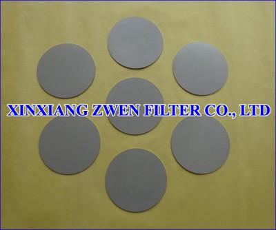 316L Sintered Powder Filter Disc