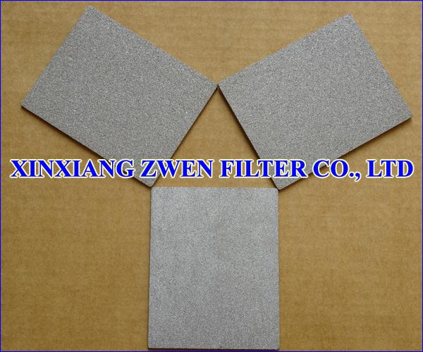 SS Sintered Porous Filter Sheet
