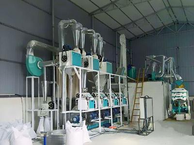 200吨级面粉加工设备